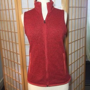 Patagonia women's xs red knitted vest