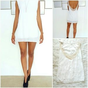 Finejo Dresses & Skirts - White Mini Dress