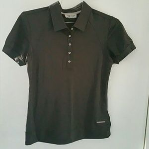 Porsche Design Tops - Porsche Design collar button shirt size small