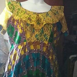 Dresses & Skirts - African print dress