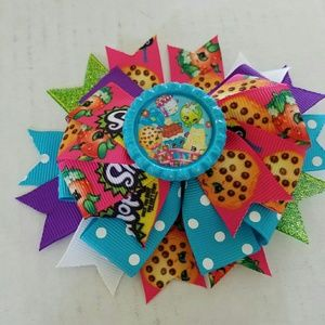 Other - 3 for $10 sale! Brand new blue Shopkins Hairbow