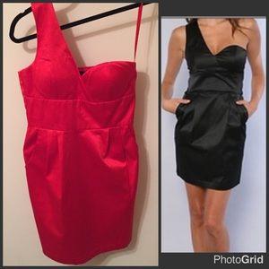 Blaque Label Dresses & Skirts - NWT Blaque Label RED One Shoulder Dress
