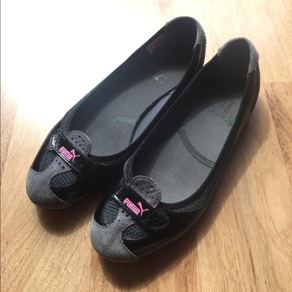 5e578fa94851 PUMA Zandy Gray Ballet Sports Flats Shoes sz 8.5. M 58e92b834e95a3496a043cbf