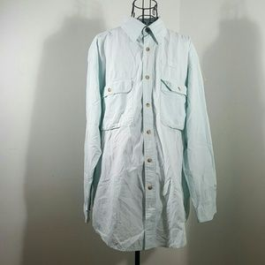 Orvis Other - ORVIS MINT LARGE INSECT SHIELD BUTTON DOWN