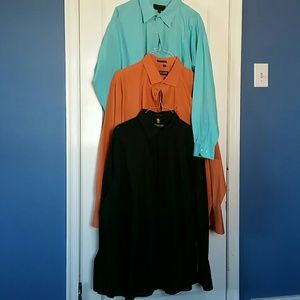 Stacy Adams Other - Bundle Men's Dress Shirt, Size 3XL