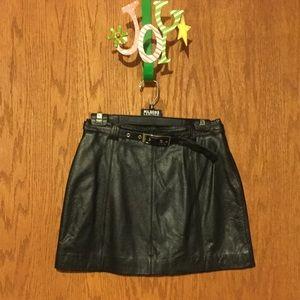 Wilsons Leather Dresses & Skirts - Wilsons Leather Maxima Leather Mini Skirt