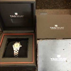 Tag Heuer Accessories - TAG HEUR LADIES AQUARACER WATCH with Diamonds