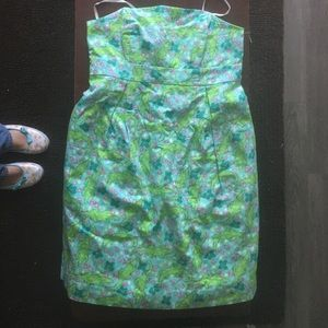 SALE Lilly Pulitzer Alberta gator Betsey dress nwt