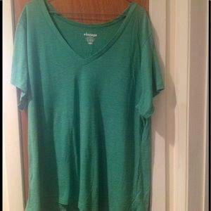 Old Navy Tops - Old Navy: Green Vintage V-Neck T-Shirt