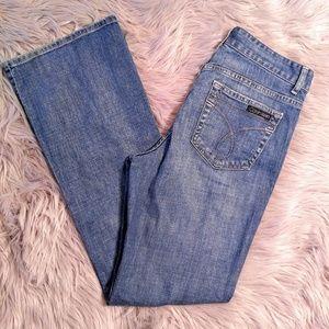 Calvin Klein Jeans Denim - Calvin Klein Flare Medium Wash Jeans