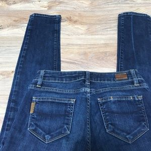 Paige, Skyline Ankle Peg skinny jeans, 26