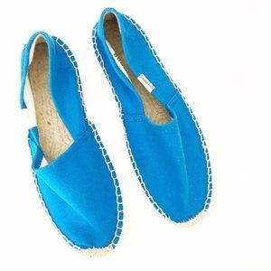 Soludos Shoes - Soludos Bright Blue Espadrilles