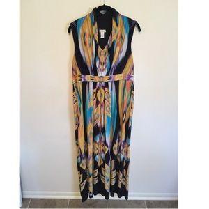 Chicos maxi dress size 2