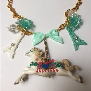 Carnival 🎡 carousel necklace whimsical Kawaii