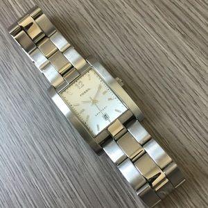 Fossil Other - 💖HP💖Fossil Arkitekt Stainless Steel Quartz Watch