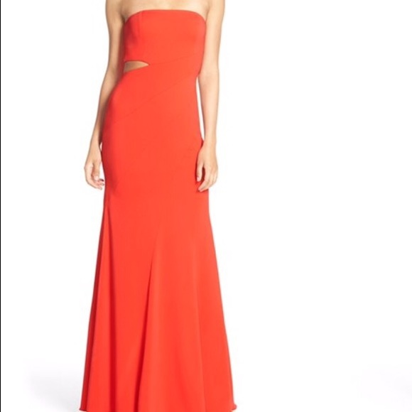 47fdc5d86747 jay godfrey Dresses   Skirts - Jay Godfrey  Doyle  Strapless Cutout ...