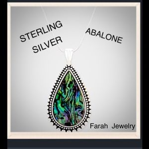 Farah Jewelry Jewelry - Radiant Abalone Pendant Necklace