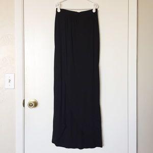 ASOS Dresses & Skirts - ASOS black wrap maxi skirt size 0 petite