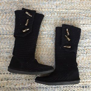 BearPaw Shoes - Bearpaw Tall Knit Boots