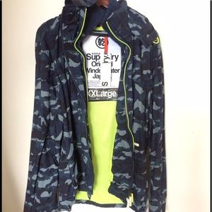 Superdry Other - Brand NWT Superdry blue camo windbreaker jacket