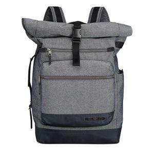 Tumi Handbags - Tumi Dalton Ridley Roll Top Backpack Gray