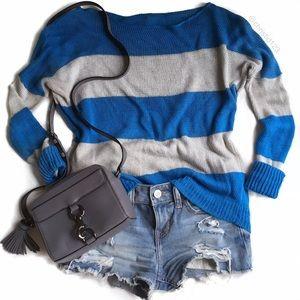 Theory Sweaters - Theory Oversized Striped Sweater