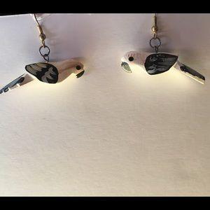 Jewelry - Vintage earrings parrots