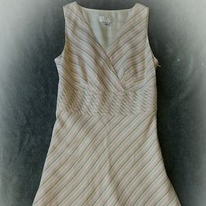 Dresses & Skirts - PRETTY PRETTY PINK STRIPED DRESS. GREAT CONDITION!