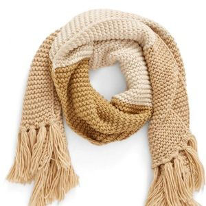 NWT BP Knit Scarf - Tan Multi