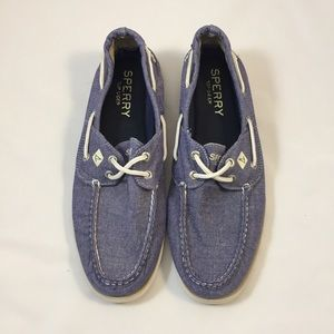 Sperry Top-Sider Other - Sperry Top-Sider Chambray Shoes Size 9.5M