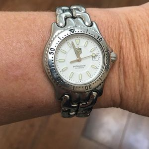 Tag Heuer Accessories - AUTHENTIC TAG HEUER SILVER LADIES WATCH