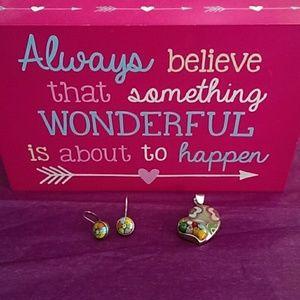 Alan K Jewelry - Sterling Alan K millefiori earrings ONLY!!!
