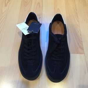 ZARA NWT Real Leather Sneakers