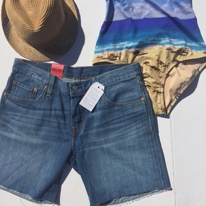 Levi's Pants - Levi's 501 CT Cut Off Jean Shorts Button Fly NEW