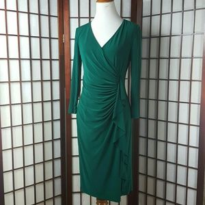 KASPER  Dresses & Skirts - KASPER DRESS Jersey Stretch Fabric Knee Length