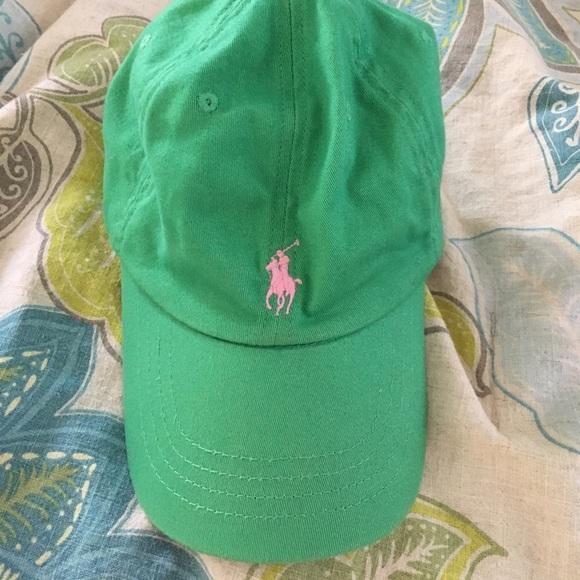 Girls hat 4-6 Polo Ralph Lauren Summer cap hat for girls  size 4-6