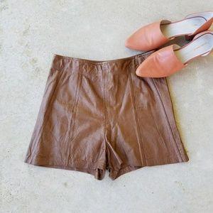 True Vintage Chocolate Shorts