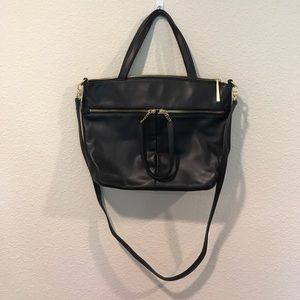 HOBO black leather bag