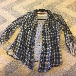Derek Heart Plaid Shirt