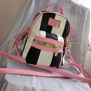 Betsey Johnson Handbags - Betsey Johnsom mini backpack crossbody
