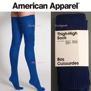 American Apparel Accessories - American Apparel Thigh High Socks Boot Over Knee