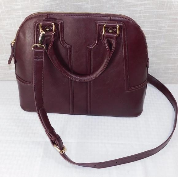 Sole Society Handbags - Sole Society Cordovan Satchel