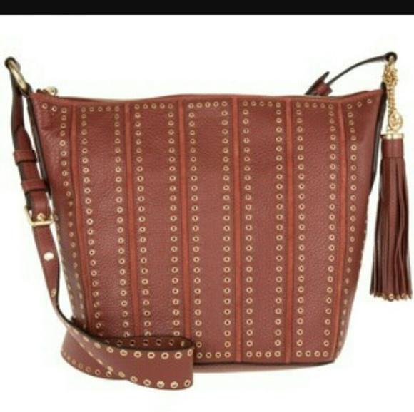 8361688f856f MICHAEL Michael Kors Bags | Brooklyn Grommet Md Feed Bag | Poshmark