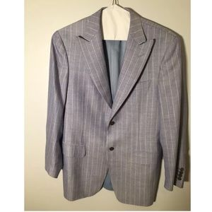 Canali Other - Canali Two Button Pinstripe Blazer Jacket Size 40R