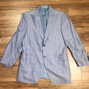 Canali Other - Canali Two Button Pinstripe Blazer Jacket Size 40R