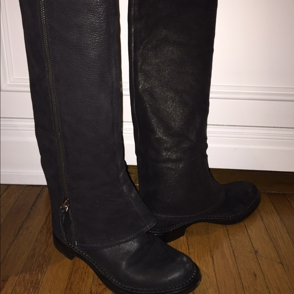 prices cheap online Miu Miu Leather Knee Boots real for sale outlet cheap wiki online pre order cheap price lrKPTC0U