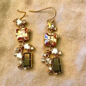 Alexis Bittar Jewelry - Alexis Bittar gorgeous Geometric stone earrings