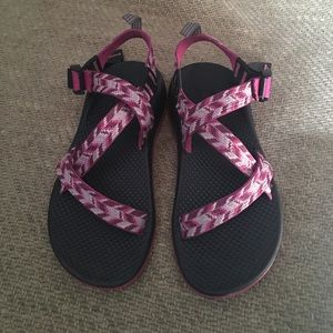 Chaco Shoes - PINK AND PURPLE CHACOS