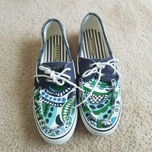 Sperry Shoes - EUC Printed Sperrys