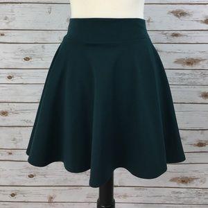 Green skirt from Francesca's